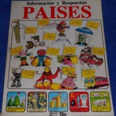 Libros de segunda mano: PAISES - PLESA - PLESA - SM (1979). Lote 53173189