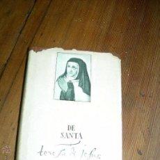 Libros de segunda mano: OBRAS COMPLETAS DE SANTA TERESA DE JESÚS. Lote 53174462