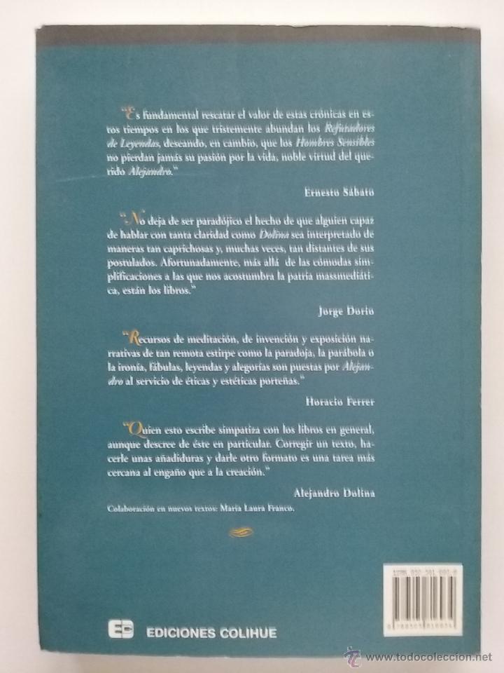 Libros de segunda mano: Crónicas del angel gris - Dolina, Alejandro - Ediciones Colihue - 1996 - Foto 2 - 53181565