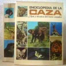 Libros de segunda mano: ENCICLOPEDIA DE LA CAZA.ARTE Y TECNICA DEL BUEN CAZADOR. Lote 53185778