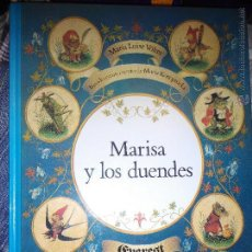 Libros de segunda mano: LIBRO ILUSTRADO MARISA Y LOS DUENDES EVEREST MARISA KONOPNICKA CUENTO. Lote 53192231