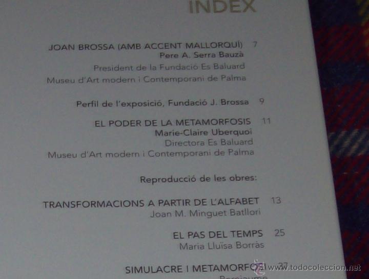 Libros de segunda mano: JOCS I CAMINS DE JOAN BROSSA. ES BALUARD.AJUNTAMENT DE PALMA. 2004. IMPRESIONANTE EJEMPLAR. FOTOS. - Foto 6 - 166533412