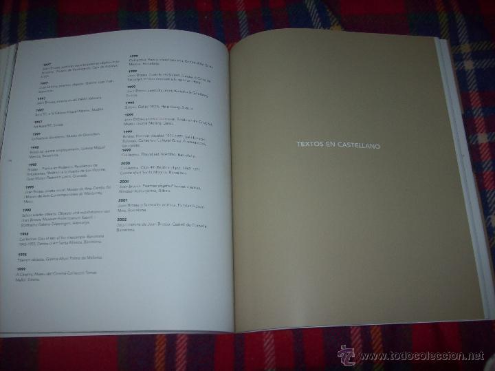 Libros de segunda mano: JOCS I CAMINS DE JOAN BROSSA. ES BALUARD.AJUNTAMENT DE PALMA. 2004. IMPRESIONANTE EJEMPLAR. FOTOS. - Foto 27 - 166533412