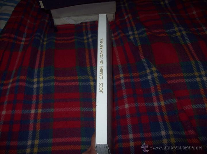 Libros de segunda mano: JOCS I CAMINS DE JOAN BROSSA. ES BALUARD.AJUNTAMENT DE PALMA. 2004. IMPRESIONANTE EJEMPLAR. FOTOS. - Foto 30 - 166533412