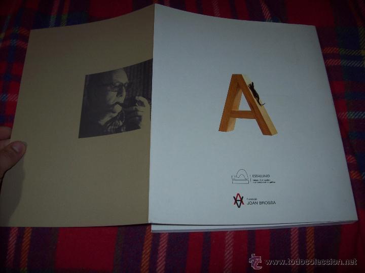 Libros de segunda mano: JOCS I CAMINS DE JOAN BROSSA. ES BALUARD.AJUNTAMENT DE PALMA. 2004. IMPRESIONANTE EJEMPLAR. FOTOS. - Foto 31 - 166533412