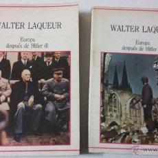 Libros de segunda mano: WALTER LAQUEUR. EUROPA DESPUES DE HITLER. Lote 53219346