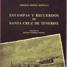 Libros de segunda mano: ESTAMPAS Y RECUERDOS DE SANTA CRUZ DE TENERIFE. Lote 53248351