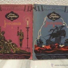 Libros de segunda mano: LOTE 2 LIBROS JEROMIN - P. LUIS COLOMA S.L REAL ACADEMIA ESPAÑOLA - OBRAS COMPLETA - 1943. Lote 53259729