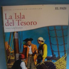 Libros de segunda mano: COMIC. LIBRO . LA ISLA DEL TESORO. ROBERT LOUIS STEVENSON. JOYAS LITERARIAS JUVENILES EL PAIS.. Lote 53274594
