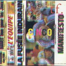 Libros de segunda mano: TF. CINCO. ARTES GRÁFICAS, 1998. INDURAIN. MANIFIESTO. Lote 53305404