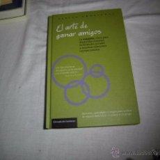Libros de segunda mano: EL ARTE DE GANAR AMIGOS.TALLER EMOCIONAL.EJERCICIOS,ACTIVIDADES Y JUEGOS PARA REALIZAR DE MANERA IND. Lote 53335149