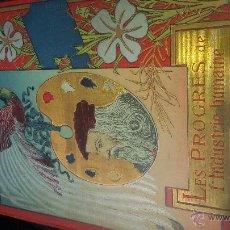 Libros de segunda mano: LES PROGRESO DE INDUSTRIES HMAINE. Lote 53431043