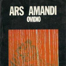 Libros de segunda mano: PUBLIO OVIDIO NASÓN-ARS AMATORIA.1973.. Lote 53460850