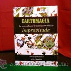 Libros de segunda mano: CARTOMAGIA IMPROVISADA. LA MEJOR COLECCIÓN DE JUEGOS FÁCILES DE HACER(COLOMBINI, ALDO). Lote 53466242