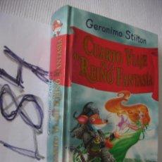 Libros de segunda mano: CUARTO VIAJE AL REINO DE LA FANTASIA - ENVIO GRATIS A ESPAÑA. Lote 53502333