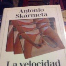 Libros de segunda mano: LA VELOCIDAD DEL AMOR - MATCH BALL - GALAXIA GUTENBER 1997. Lote 53511890