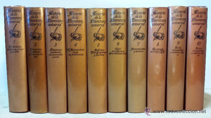 Historia de la literatura universal martin de comprar en todocoleccion 53515284 - Libreria segunda mano online ...