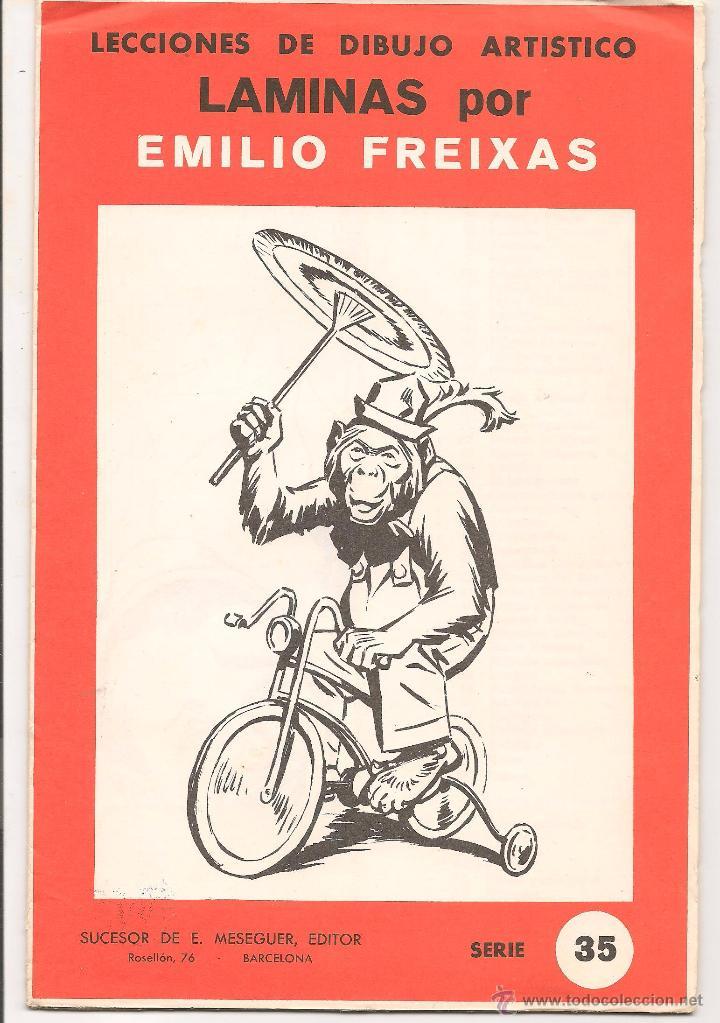 Laminas por emilio freixas lecci n de dibujo a comprar en todocoleccion 53516894 - Laminas de dibujo artistico ...