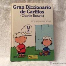 Libros de segunda mano: GRAN DICCIONARIO DE CARLITOS CHARLIE BROWN TOMÓ LI Z. Lote 53520165