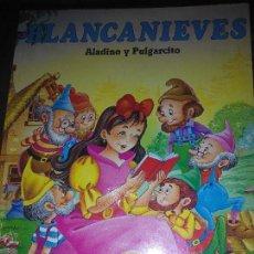 Libros de segunda mano: BLANCANIEVES ALADINO Y PULGARCITO SERVILIBRO. Lote 53532102