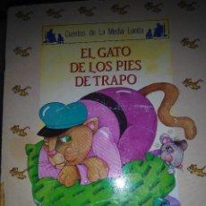 Libros de segunda mano: EL GATO DE LOS PIES DE TRAPO CUENTOS DE LA MEDIA LUNA A.R. ALMODOVAR ALGAIDA. Lote 147718349