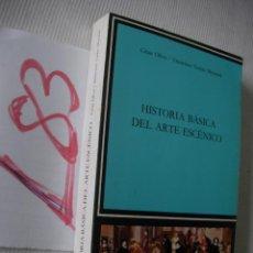 Libros de segunda mano: HISTORIA BASICA DEL ARTE ESCENICO - OLIVA Y TORRES MONTREAL. Lote 53549272