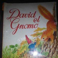 Libros de segunda mano: DAVID EL GNOMO OBSEQUIO VERNEL. Lote 53559043