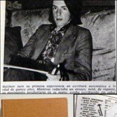 Libros de segunda mano: UN FENÓMENO PARANORMAL - LIBRO MATTHEW MANNING MISTERIO POLTERGEIST ESOTERISMO ESCRITURA AUTOMÁTICA. Lote 53573130