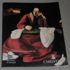Libros de segunda mano: ARTE ESPAÑOL CHRISTIES 1992. Lote 53579612