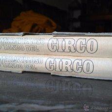Libros de segunda mano: EL MARAVILLOSO MUNDO DEL CIRCO.2 TOMOS EN ESTUCHE,260 PP. NOVA 1979 VV.AA. 31X23. Lote 53599457