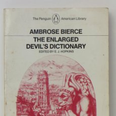 Libros de segunda mano: THE ENLARGED DEVIL'S DICTIONARY. AMBROSE BIERCE.. Lote 53608198