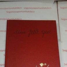 Libros de segunda mano: DIME POR QUÉ - TOMOS DEL 1 AL 7- ARGOS - ENCICLOPEDIA BÁSICA - 1970. Lote 53612774