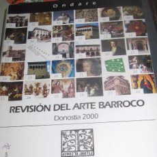 Libros de segunda mano: REVISIÓN DEL ARTE BARROCO DONOSTIA 2000. Lote 53614552