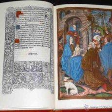 Libros de segunda mano: FACSÍMIL ÍNTEGRO DEL LIBRO DE HORAS DE PARÍS (S. XV), ¡ESTUDIO EN CASTELLANO!. Lote 128651591