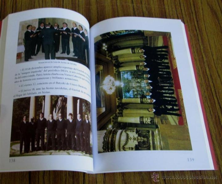 Libros de segunda mano: 50 AÑOS CANTANDO - Lutxana Baracaldo - 50 urteurrena (1959-2009) - Foto 4 - 53637505