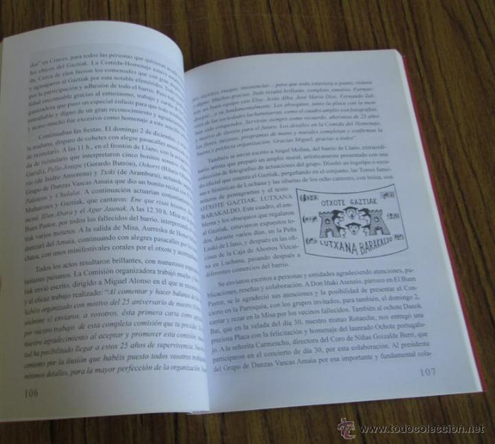 Libros de segunda mano: 50 AÑOS CANTANDO - Lutxana Baracaldo - 50 urteurrena (1959-2009) - Foto 5 - 53637505