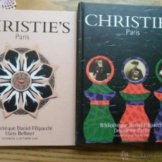 Libros de segunda mano: CATÁLOGO DE LA BIBLIOTECA DANIEL FILIPACCHI. CHRISTIE`S. PARIS. 2005.. Lote 53656689