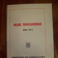 Libros de segunda mano: HOJAS DIVULGADORAS. 1973. Nº1 73-H A Nº23-24 73-H. Lote 53656972