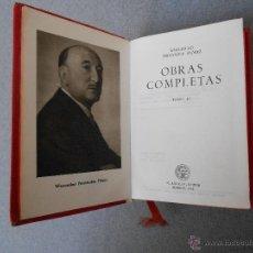 Libros de segunda mano: WENCESLAO FERNANDEZ FLOREZ. OBRAS COMPLETAS. TOMO III. Lote 53697928