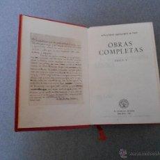 Libros de segunda mano: WENCESLAO FERNANDEZ FLOREZ. OBRAS COMPLETAS. TOMO V. Lote 53698150