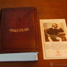 Libros de segunda mano: OBRAS INMORTALES.-- SHAKESPEARE. Lote 53720401