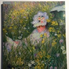Libros de segunda mano: CHRISTIES. IMPRESSIONIST AND MODERN. EVENING SALE. MONET. Lote 53728993