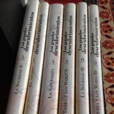 Libros de segunda mano: LOS GRANDES DESCUBRIMIENTOS POR DANIEL J.BOORSTIN. 6 VOL, ED. PLANETA, 2002.. Lote 53743269
