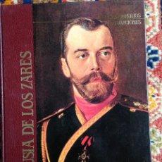 Libros de segunda mano: LA RUSIA DE LOS ZARES, GRANDES IMPERIOS Y CIVILIZACIONES, SARPE, 1988. Lote 53743542