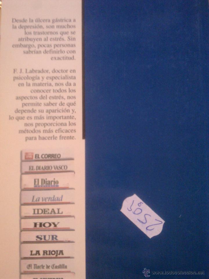 Libros de segunda mano: EL ESTRES - - Foto 2 - 53777725
