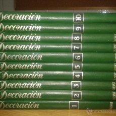 Libros de segunda mano: ENCICLOPEDIA DE LA DECORACION. SALVAT. 10 TOMOS. COMPLETA. Lote 53803048