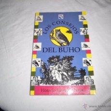 Libros de segunda mano: LOS CONSEJOS DEL BUHO.HORACIO JARAMILLO LOYA.EDITORIAL DIANA MEXICO 1991.-1ª EDICION. Lote 53807737