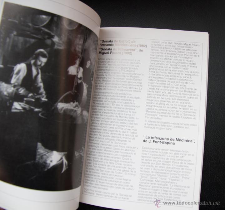 Libros de segunda mano: VALLE INCLAN Y EL CINE - 1986 CINCUENTENARIO - MINISTERIO DE CULTURA - Foto 3 - 53840900
