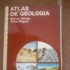 Libri di seconda mano: ATLAS DE GEOLOGIA . EDICIONES JOVER. Lote 53849846
