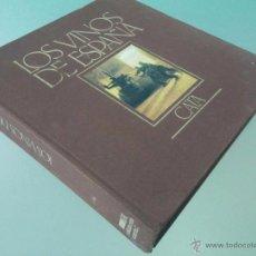 Libros de segunda mano: LOS VINOS DE ESPAÑA - CATA - EDICIONES CASTELL - 1984 - 27 X 26 - 342 P - CON ILUSTRACIONES A COLOR. Lote 53888644